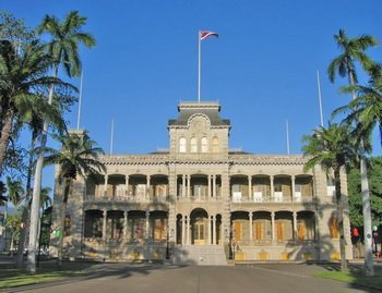 Iolani-Palast in Honolulu